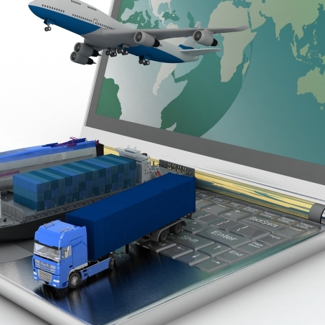concept image for freight forwarding